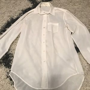 White Vince camuto Blouse